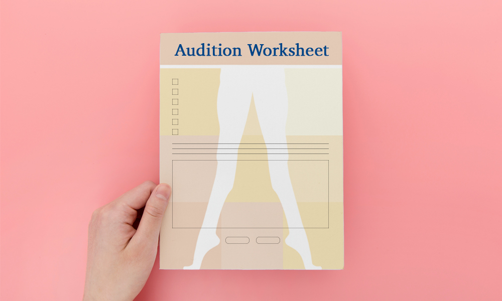 Audition Worksheet
